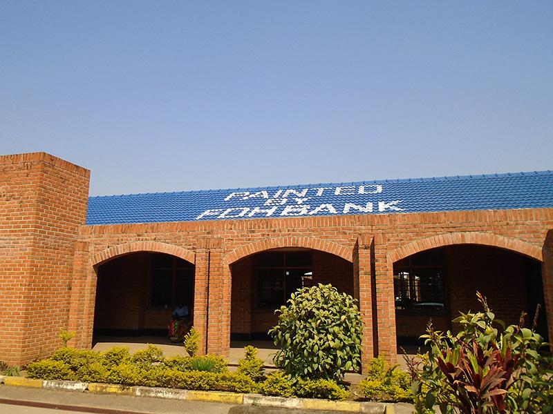 FDH Paints The Roof Of Kachere Rehabilitation